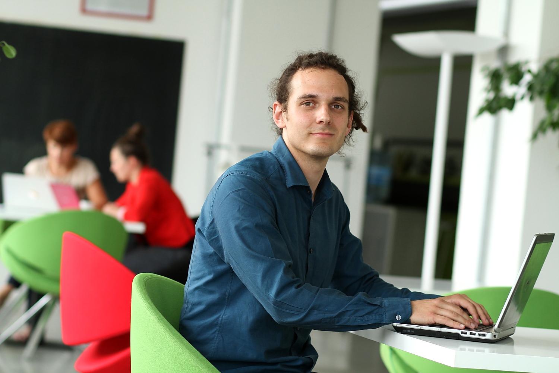 Václav Formánek pomáhá maturantům, vyvíjí speciální aplikaci