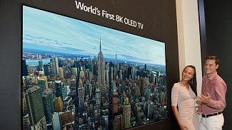 8k OLED TV LG