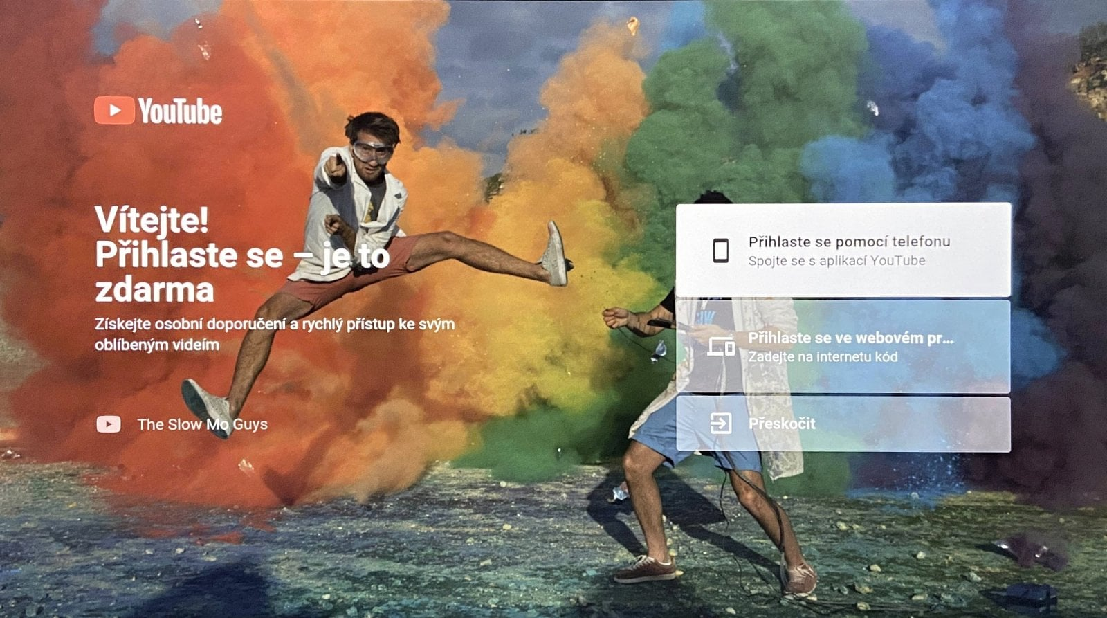 Aplikace ve Vodafone TV
