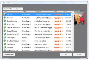<p>CamSpace - šikorý výběr her k vyzkoušení</p>