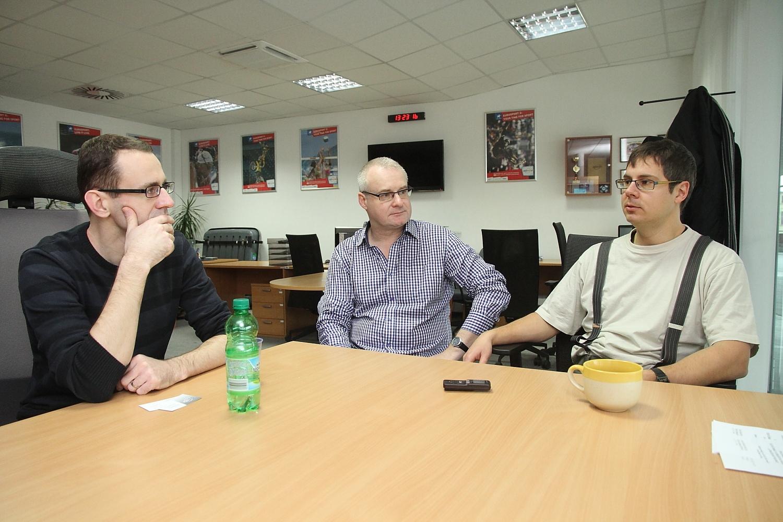 Setkání se zástupci české redakce Eurosportu