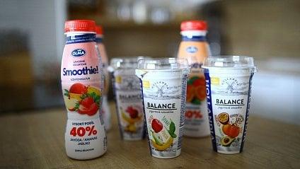 Vitalia.cz: Jogurtové smoothie: Novinka s hromadou cukrů