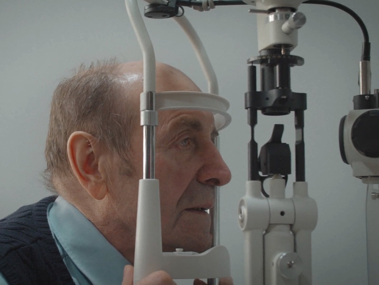 Oční klinika Gemini: Pacient po transplantaci rohovky