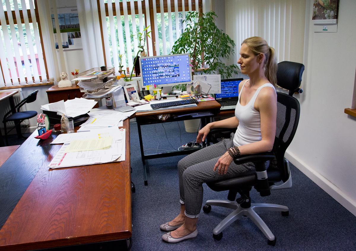 Jóga do kanceláře