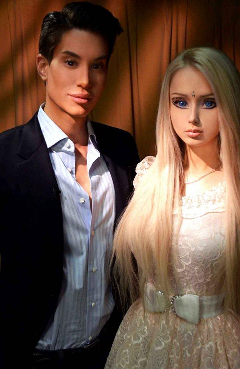 Chtějí být jako Ken a Barbie