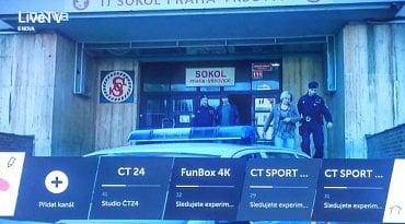 SPI International  testuje FunBox 4K i u Českých Radiokomunikací na experimentálním DVB-T2/HEVC. (Z televizoru LG Signature OLED 65E6.)