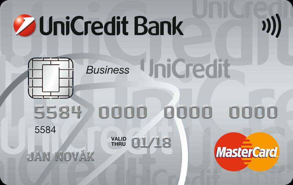 UniCredit Bank platební karta
