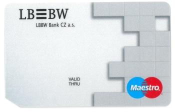 LBBW Bank platební karta