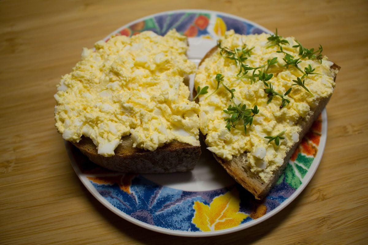 Recept na vajíčkovou pomazánku
