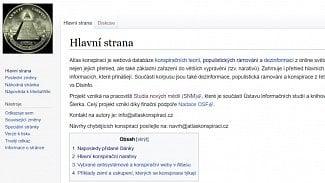 Lupa.cz: Svět ovládají reptiliáni. Je tady Atlas konspirací