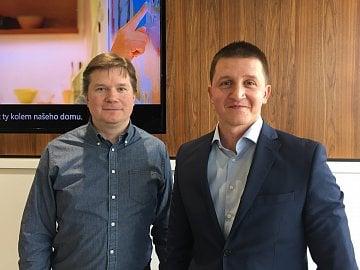 Vývoj Microsoft Dynamics CRM v Praze, Martin Koštál vlevo.