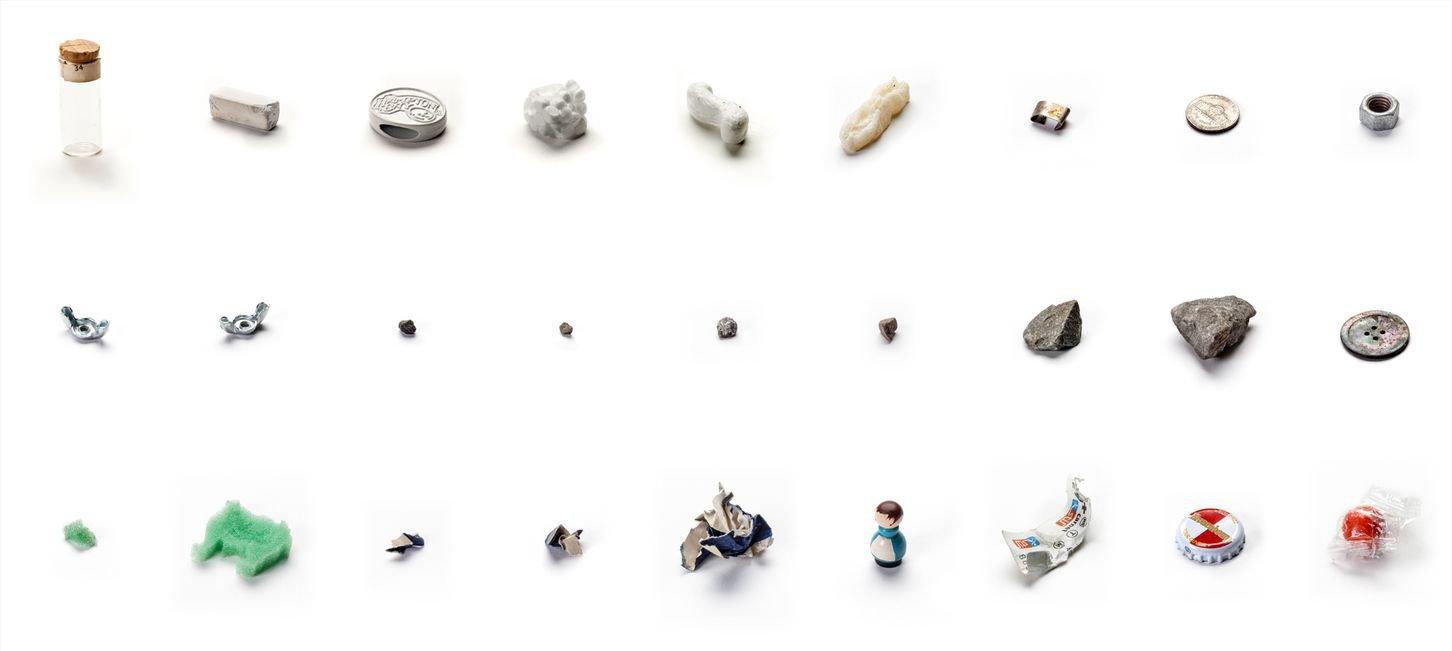 63 objektů vyndaných z úst mého syna