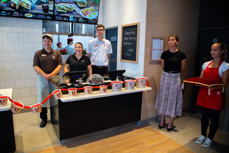 KFC otevřelo stou pobočku v Česku
