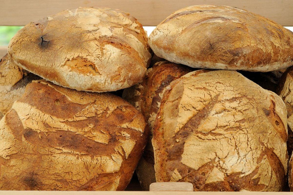 Klasický kváskový chléb