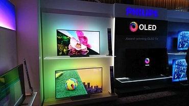 TP Vision by mělo už v prvním pololetí nabídnout pět televizorů s obrazovkami OLED ve třech řadách a dvou úhlopříčkách.