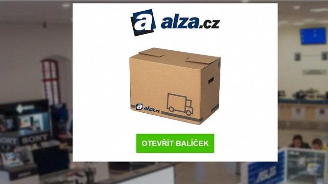 [aktualita] Alza.cz varuje před podvodnou SMS, která slibuje iPhone a snaží se vylákat číslo karty