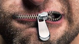 Cenzura zip ústa