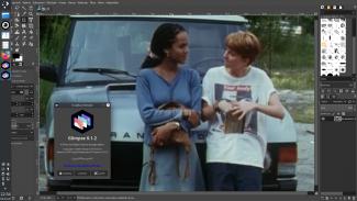 Glimpse 0.1.2 v Kubuntu 20.04