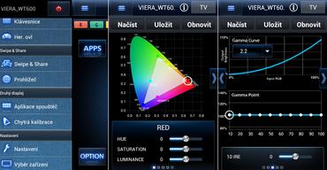 S aplikací pro chytrá zařízení Panasonic TV Remote 2, zvládnete i jednoduchou kalibraci.