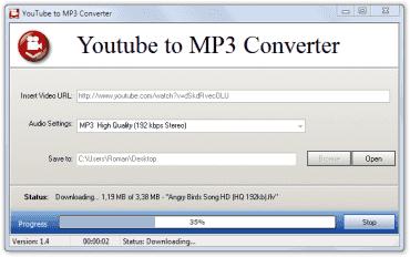 YouTube to MP3 Converter - snadné uložení zvuku z videí