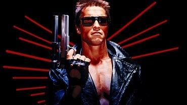 Arnold Schwarzenegger jako terminátor
