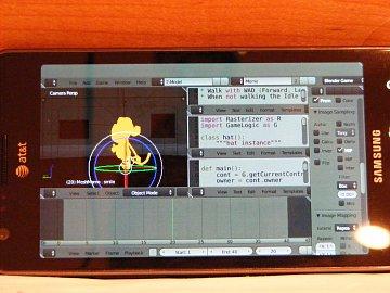 Blender na OS Android