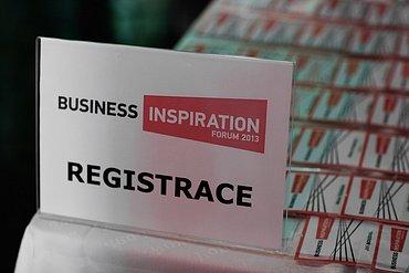 Business Inspiration Forum 2013 - Žijeme v nádherné době
