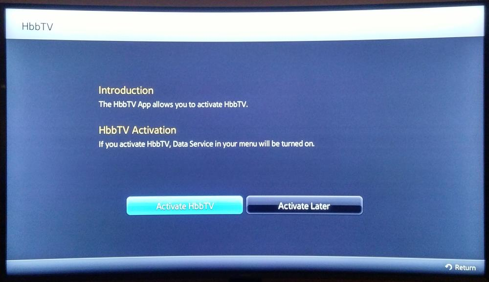 Samsung UE55JU7502-HbbTV