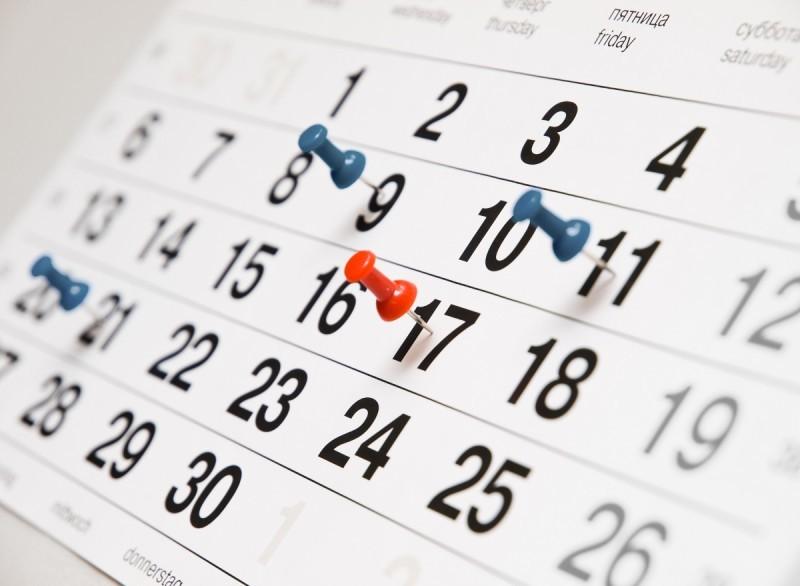 plánování, kalendář, time management