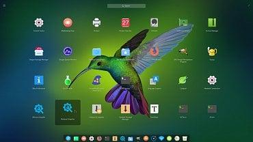 ExTiX 18.0 s desktopem Deepin 15.5