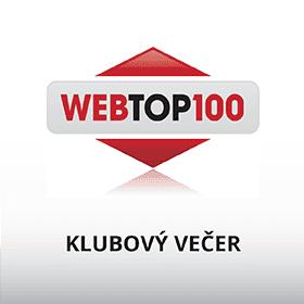 Logo 4. Klubový večer WebTop100