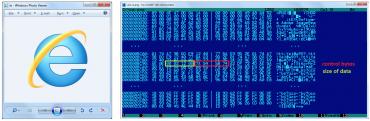 Zdánlivě neškodný PNG obrázek, který má v sobě ovšem zašifrované skryté DLL (Okrum)