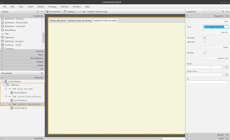 Příprava na použití PG funkcí v aplikaci JavaFX