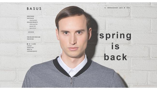 Fotka na fashion webu Basus.