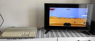 A tady máme zpět hrdinu prvního mého projektu renovace starých počítačů. Na Atari 1024 STFM beží Lotus III z diskety, která byla vytvořena pomocí programu X-Copy z obrazu .st na GoTeku.