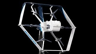Lupa.cz: Amazon ukázal nový dron. Brzo bude nosit nákupy