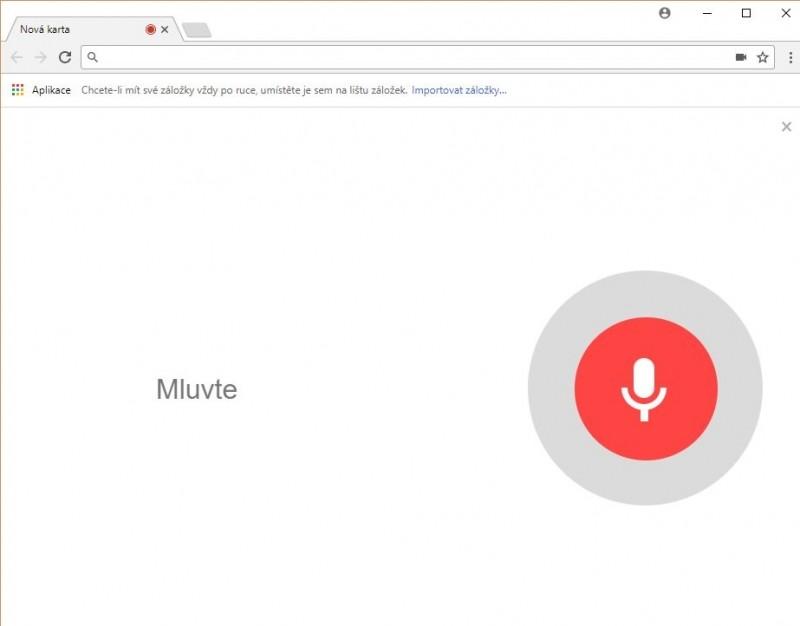 Tohle sice není Google Home, ale i přesto se můžete dostat ke spoustě informací – tentokrát přes vyhledávání hlasem na pracovní ploše