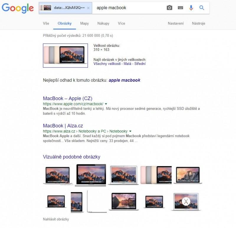 Nejsou slova zbytečná? Google dokáže díky svým schopnostem prohledávání najít různé verze jednoho obrázku