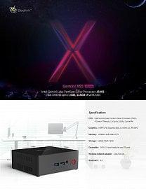 Nejvyšší model řady – X55 Ultimate, procesor Pentium Silver a paměť 8 GB.