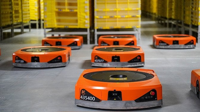 Amazon na Přerovsku otevře robotické distribuční centrum, zaměstná dva tisíce lidí