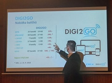 Ceny IPTV služby Digi2GO.