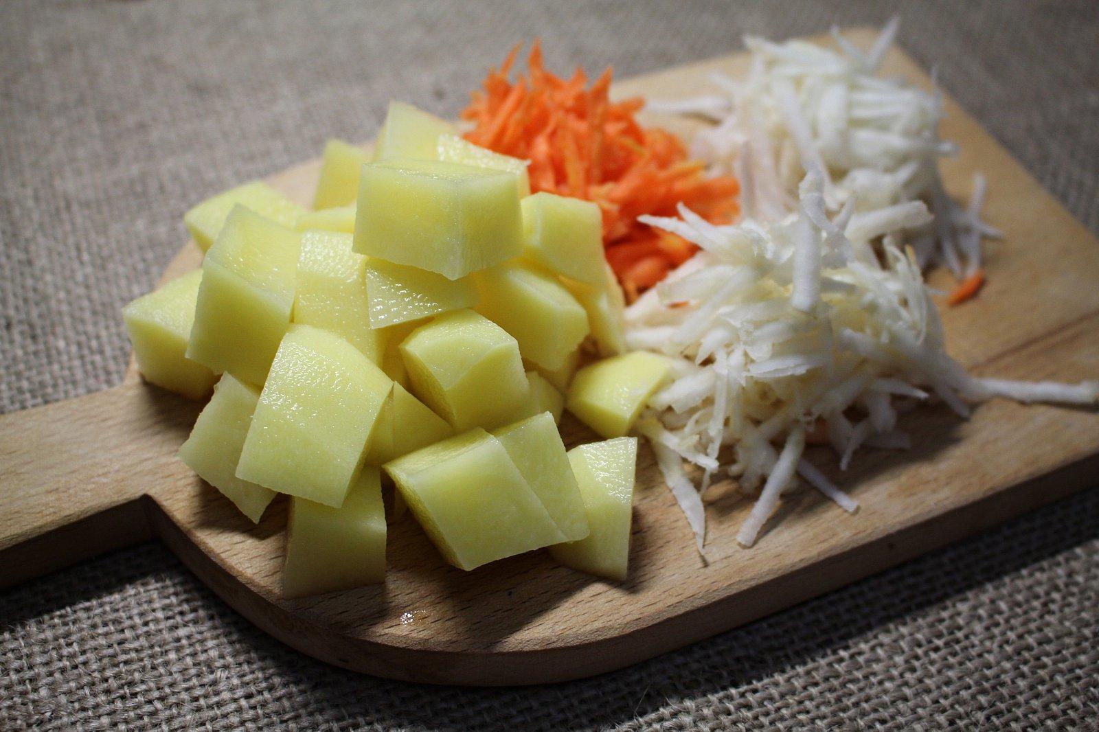 Recept na bramborovou polévku
