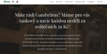 Restaurace na zákaz vstupu nezletilým upozorňuje i na svém webu.