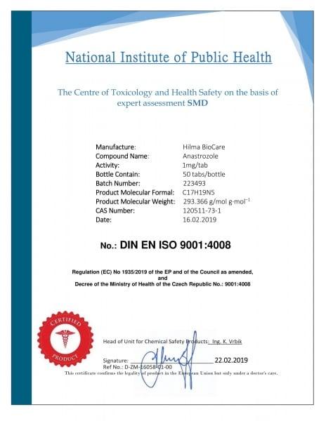 E-shop nabízí steroidy a hormony s falešnými certifikáty