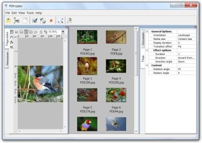 PDFrizator vytvoří prezentace ala PowerPoint, ale do PDF