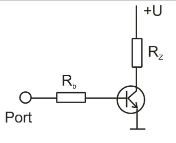 tranzistorové zapojení