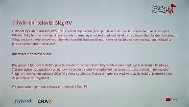 Šlágr TV – volba O HbbTV.