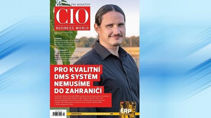 Vyšel nový CIO Business World