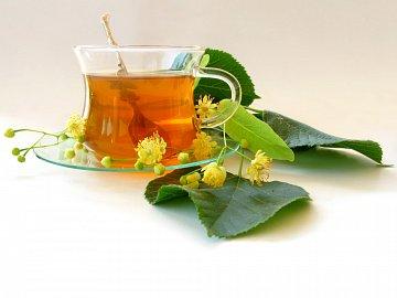 Recept babiček - lipový čaj, skvěle zabere na běžná nachlazení.