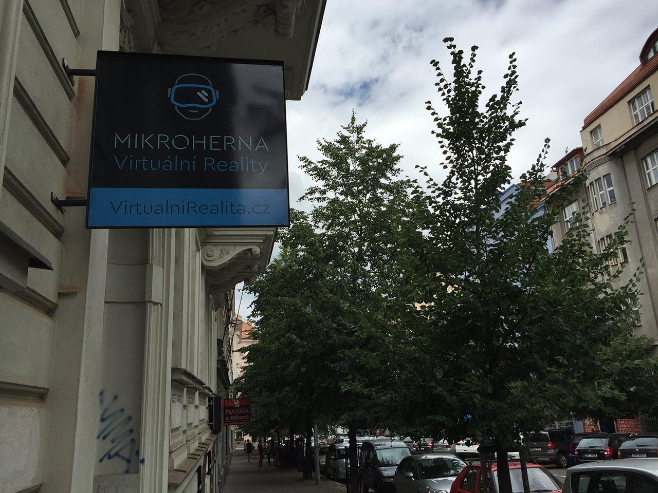 Mikroherna virtuální reality v Praze